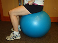 Sissell Exercise Balls Thrive Now Physio